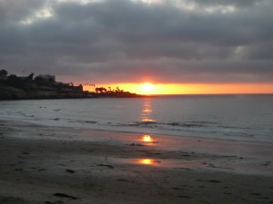 La Jolla Sunset at On Target Conference